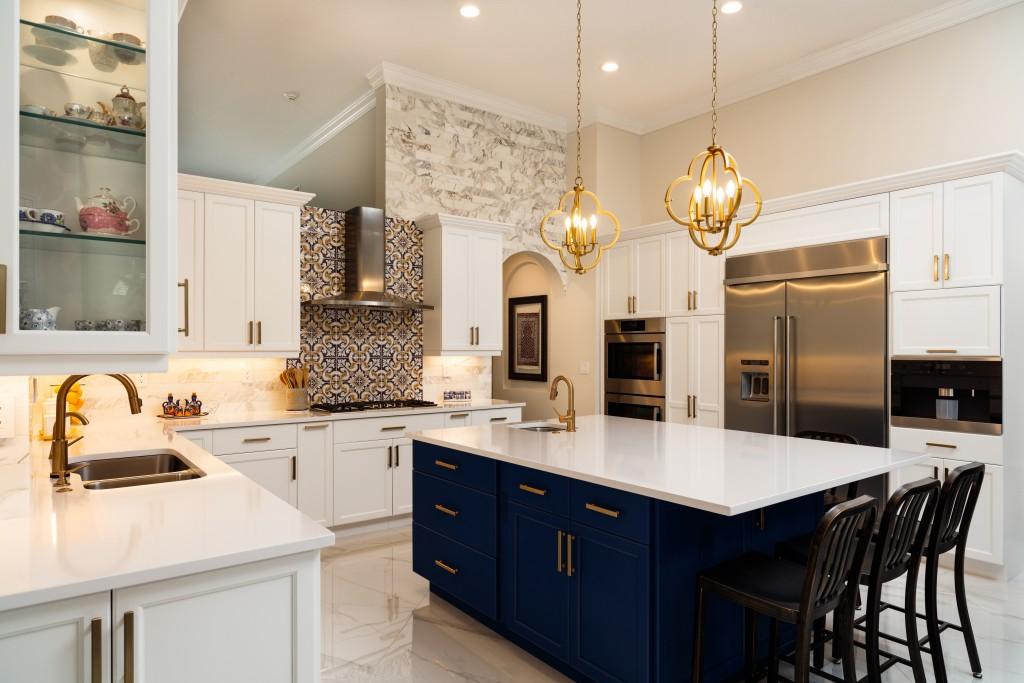 modern-designed kitchen