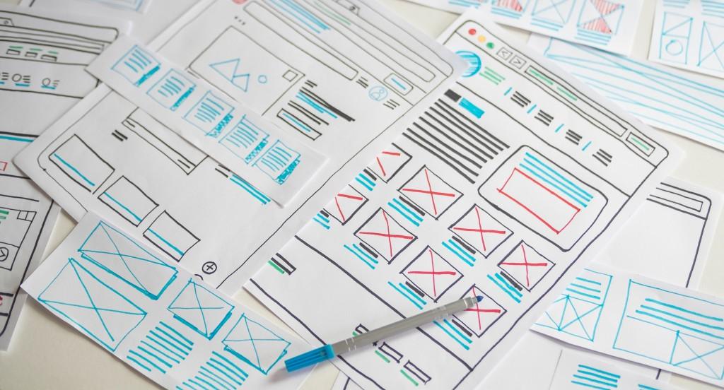 website build concept