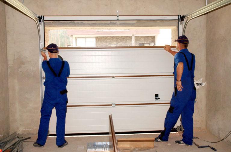 installing garage door