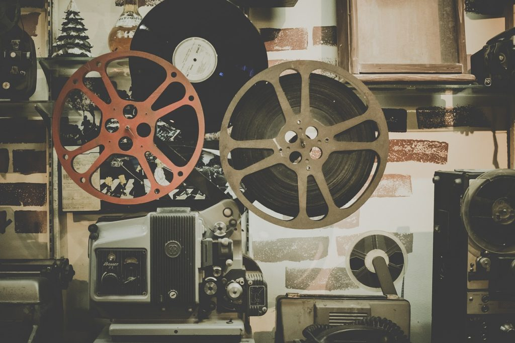 movie reel projector