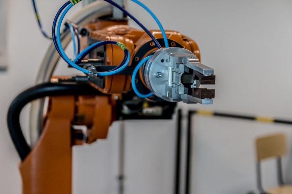 robot, arm, technology