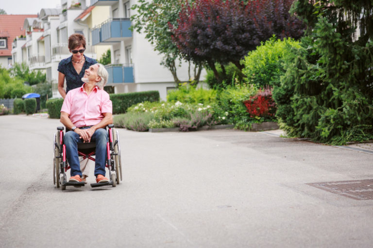 elder in retirement home