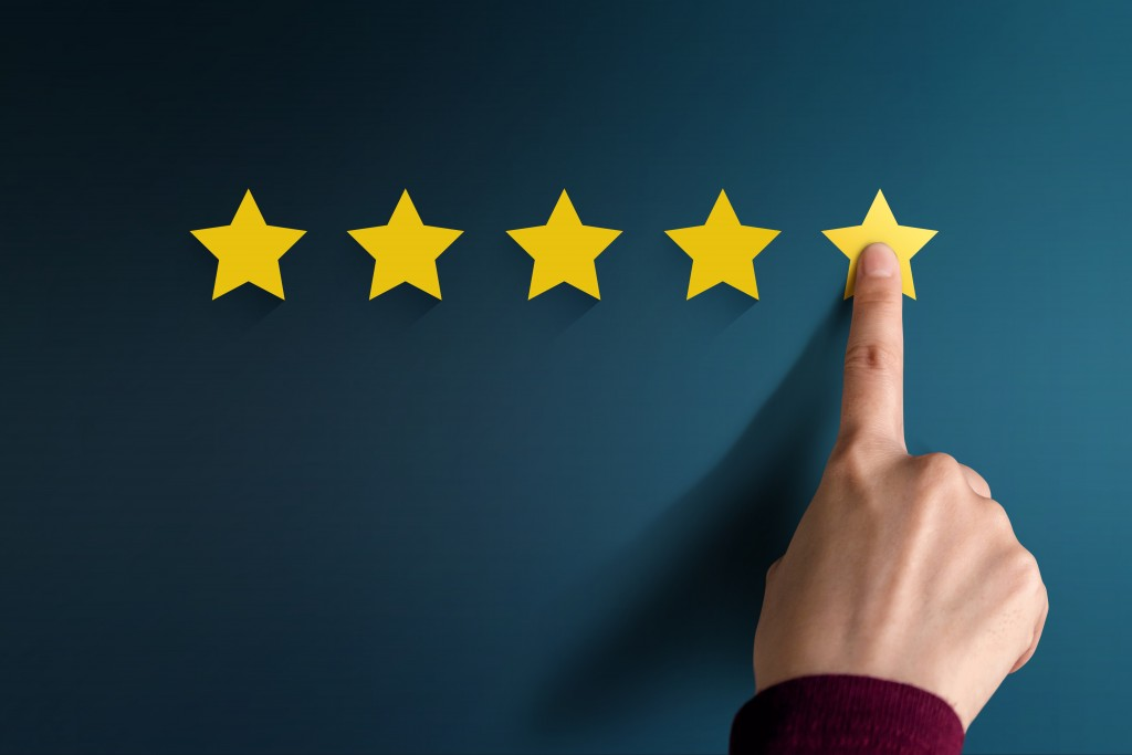 star ratings for review