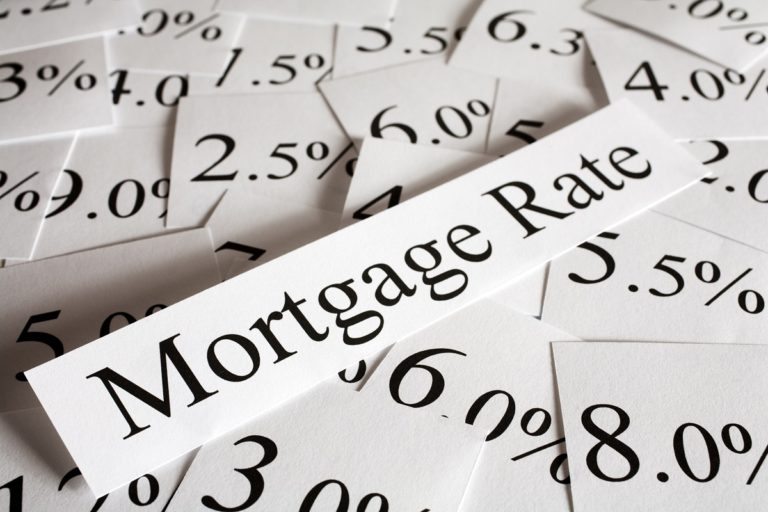 mortgage rate concept