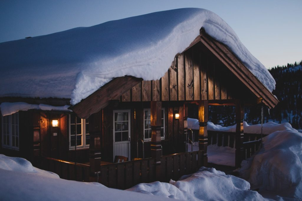 winter house