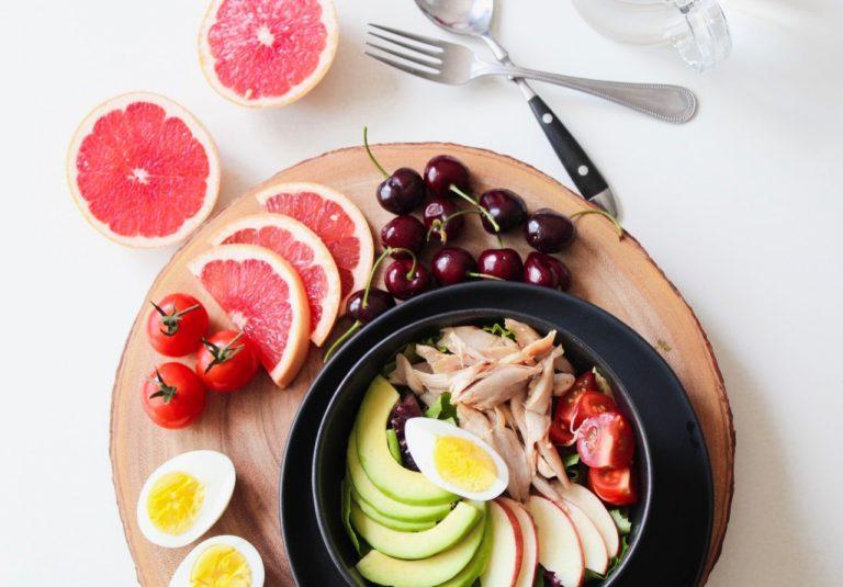 balanced diet meal