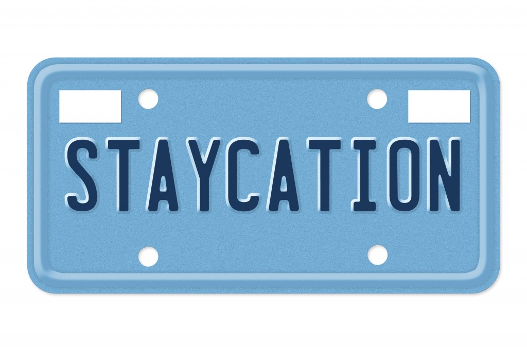 staycation concept