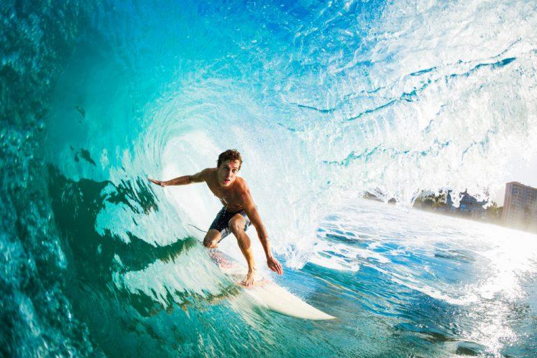 a surfer