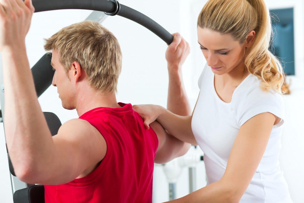 sport injury concept