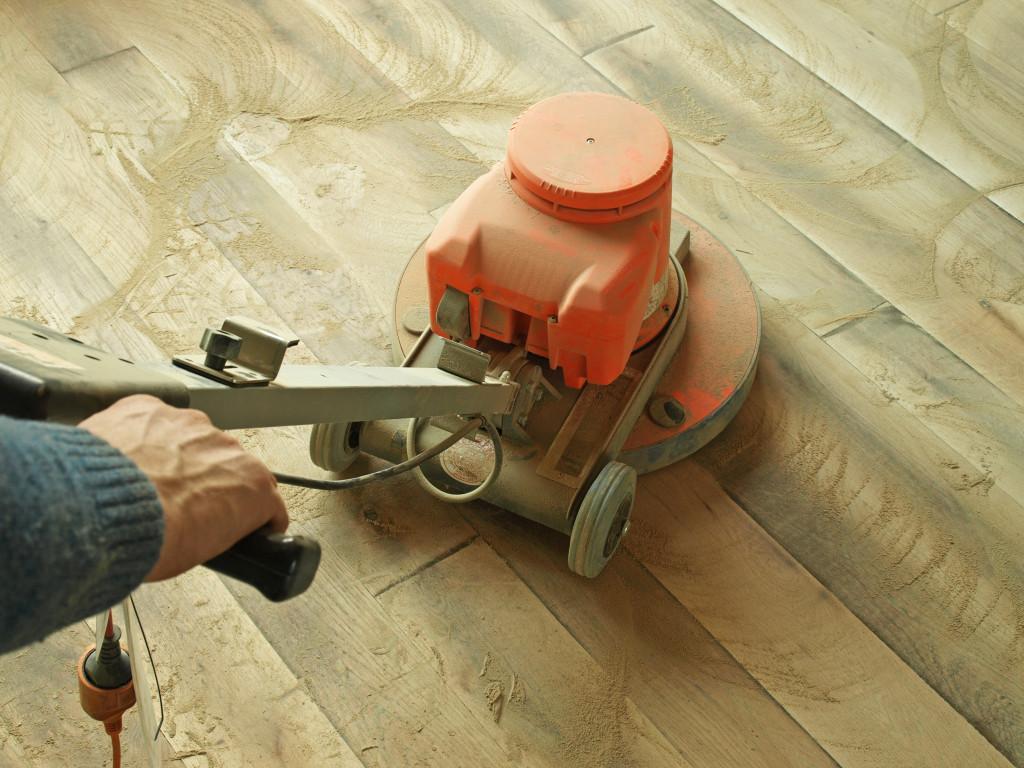 shining hardwood floor