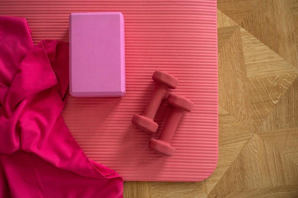 preparing pilates