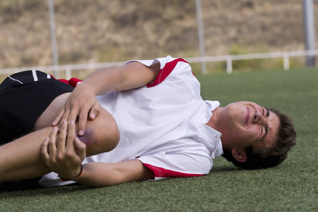 athlete injured