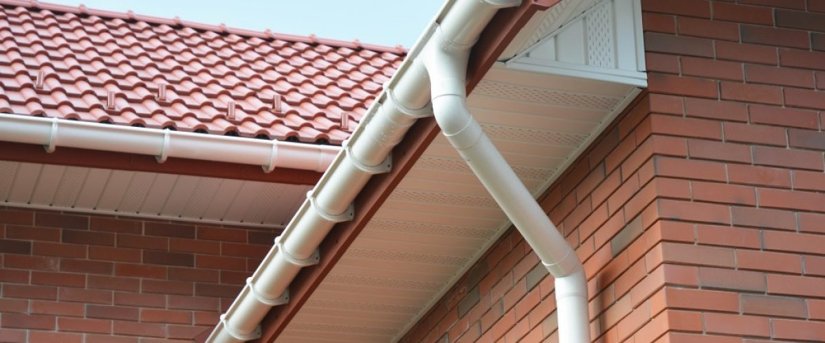 roof gutter and downspout