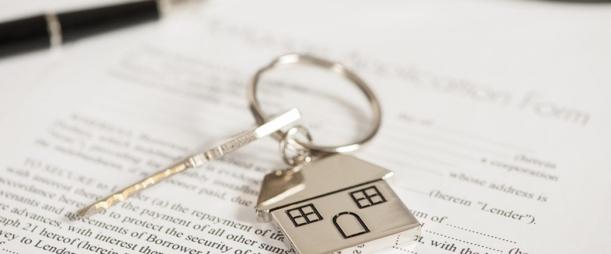 home key on top of a document