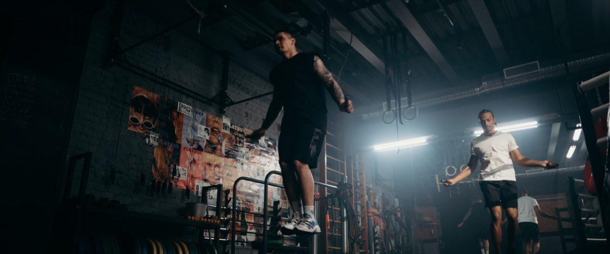 boxing gym skip rope